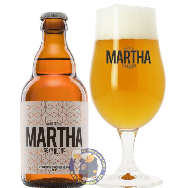 Buy-Achat-Purchase - Martha Sexy Blond 8° - 1/3L - Special beers -