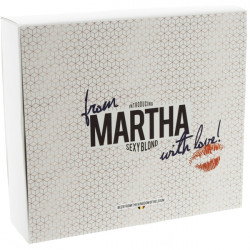 "Pack \""Martha Sexy Blond\\"" 2x33cl + 1glass - Beers Gifts -"