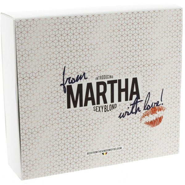 "Buy-Achat-Purchase - Pack ""Martha Sexy Blond"" 2x33cl + 1glass - Beers Gifts -"