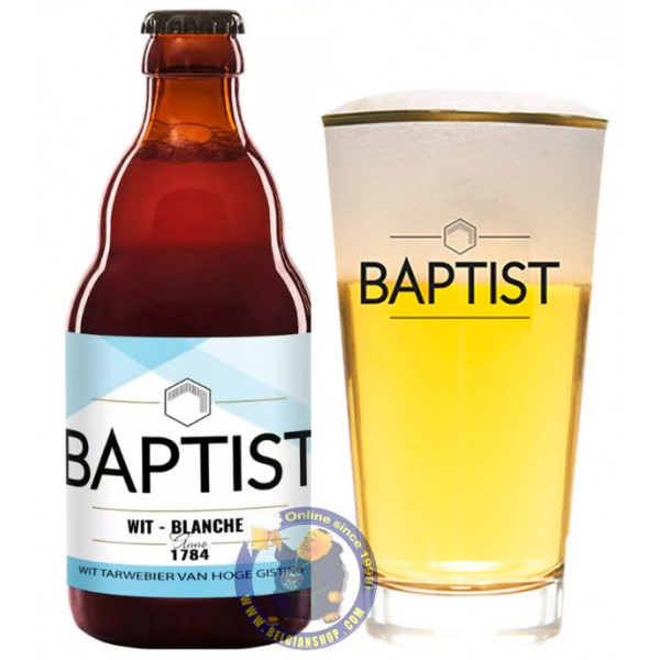 Buy-Achat-Purchase - Baptist Blanche 5° - 1/3L - White beers -