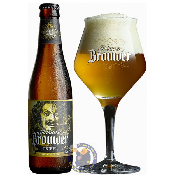 Buy-Achat-Purchase - Adriaen Brouwer Tripel 9° - 1/3L - Special beers -