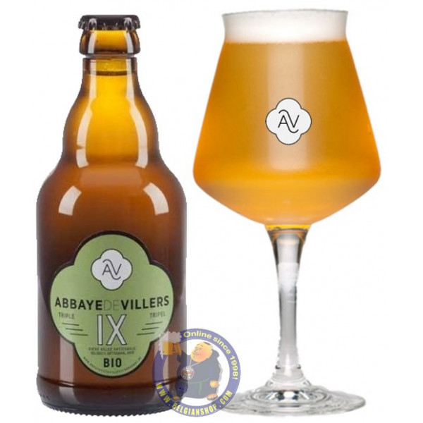 Buy-Achat-Purchase - Abbaye Villers Tripel IX 9° - 1/3L - Abbey beers -
