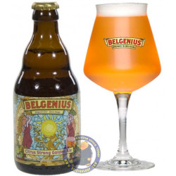 Buy-Achat-Purchase - Belgenius Citrus Strong Golden Ale 7.5° - 1/3L - Special beers -