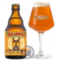 Buy-Achat-Purchase - Belgenius Belgian Haze IPA 6.5° - 1/3L - Special beers -