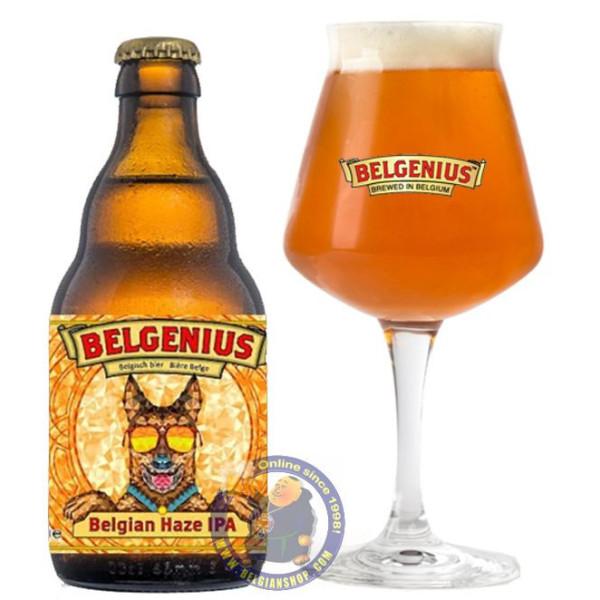Buy-Achat-Purchase - Belgenius Belgian Haze IPA 6.5° - 1/3L - Special beers -
