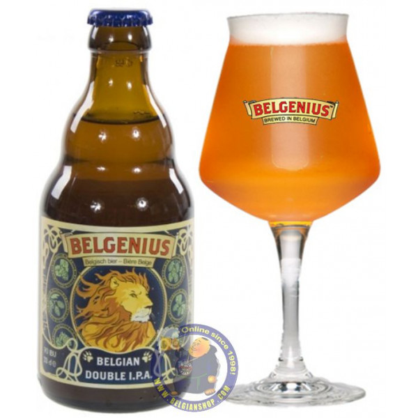 Buy-Achat-Purchase - Belgenius Belgian Double I.P.A. 7° - 1/3L - Special beers -