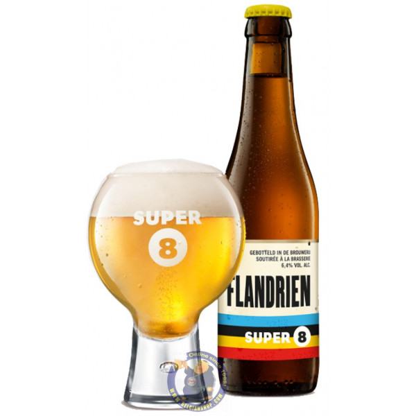 Buy-Achat-Purchase - Haacht Super 8 Flandrien 6.4° - 1/3L - Special beers -