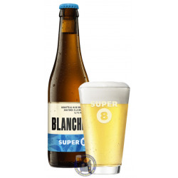 Buy-Achat-Purchase - Haacht Super 8 Blanche 5.1° - 1/3L - White beers -