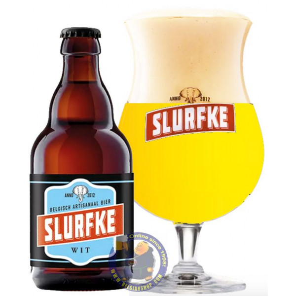 Buy-Achat-Purchase - Slurfke Wit 5.1° - 1/3L - White beers -