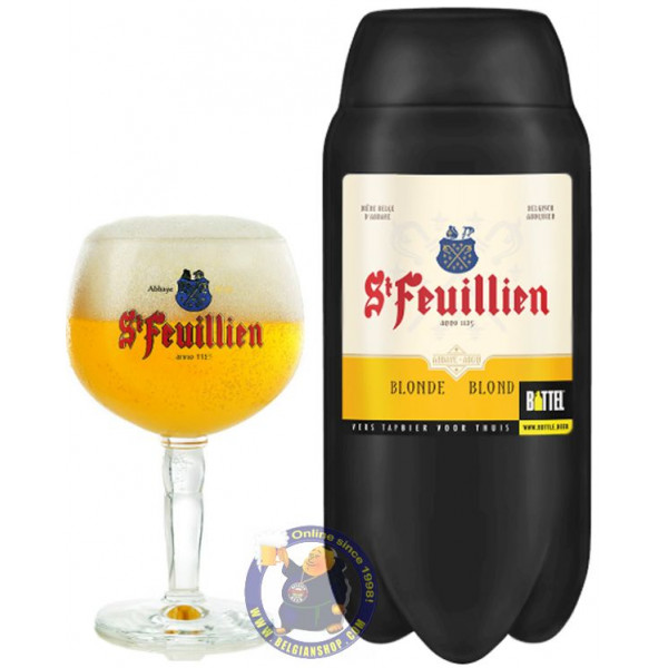 Buy-Achat-Purchase - St. Feuillien Blond TORP - 2L Keg - Beers Kegs -