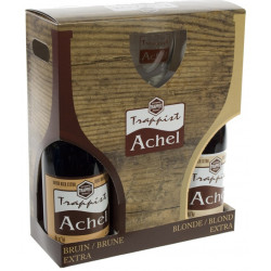 Buy-Achat-Purchase - Achel Gift 75cl - 2 bottles & 1 glass - Beers Gifts -
