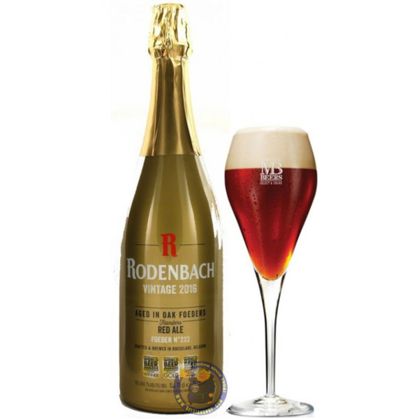 Buy-Achat-Purchase - Rodenbach Vintage 2016 7° - 3/4L - Flanders Red -