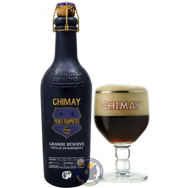 "Buy-Achat-Purchase - CHIMAY ""GRANDE RÉSERVE"" BARREL AGED - ARMAGNAC 2020 37,5CL - Trappist beers -"