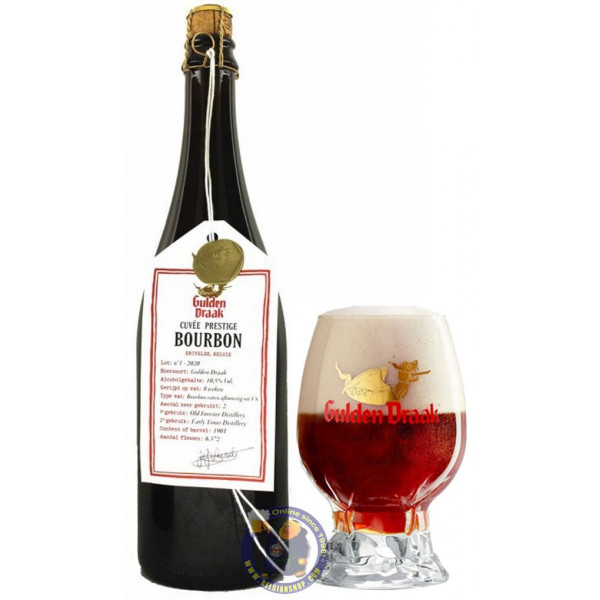 Buy-Achat-Purchase - Gulden Draak Cuvée Prestige Bourbon 10,5° - 3/4L - Special beers -