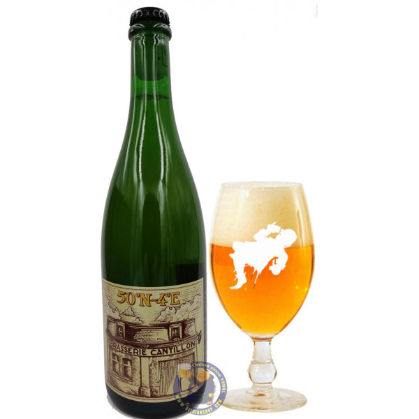 Buy-Achat-Purchase - Cantillon 50°N-4°E 7° - 3/4L - Geuze Lambic Fruits -