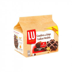 Buy-Achat-Purchase - LU 5 dark chocolate Cote d'Or Liege waffles 225 gr - Waffles - LU