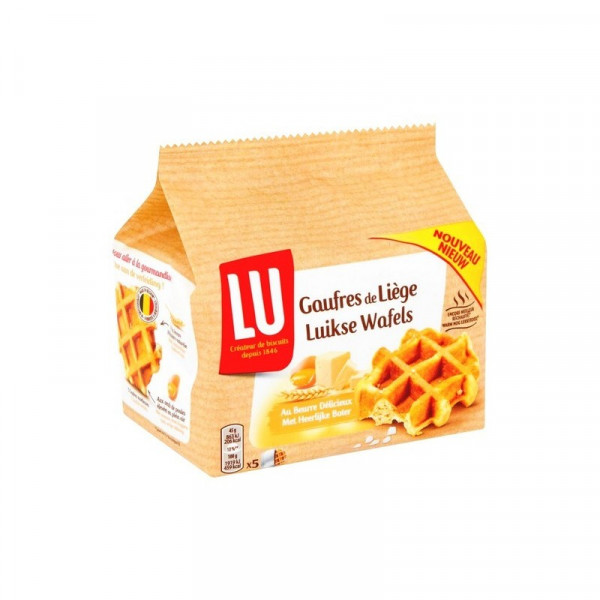 Buy-Achat-Purchase - LU 5 Liege waffles with butter 225 gr - Waffles - LU