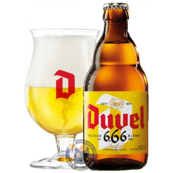 Buy-Achat-Purchase - Duvel 6.66 Blond 6.7° - 1/3L - Special beers -