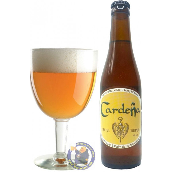 Buy-Achat-Purchase - Cardena Trappist 7° - 1/3L - Trappist beers -