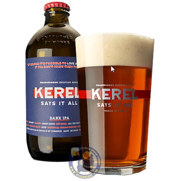 Buy-Achat-Purchase - Kerel Dark IPA 6° - 1/3L - Special beers -