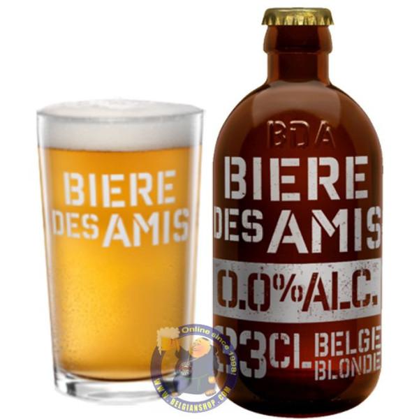 Buy-Achat-Purchase - Bière des Amis 0,0% ALC - 1/3L - Low/No Alcohol -