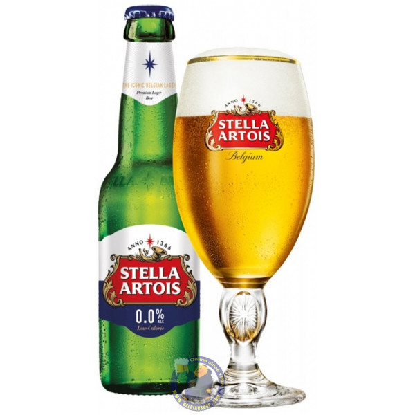 Buy-Achat-Purchase - Stella Artois 0,0% - 1/4L - Low/No Alcohol -