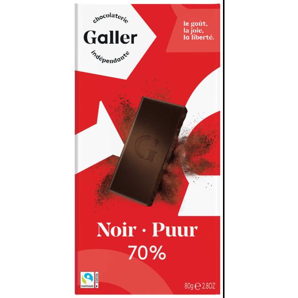 Buy-Achat-Purchase - Galler Tablet Noir Intense 70 % - Galler - Galler
