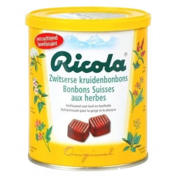 Buy-Achat-Purchase - Ricola Swiss herbs sweets 250 gr - Fruit candy / Dextrose -