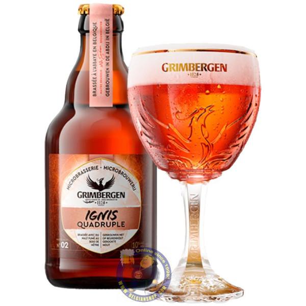 Buy-Achat-Purchase - Grimbergen Ignis Quadruple 10,0° - 1/3L - Abbey beers -