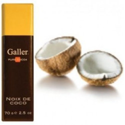 Buy-Achat-Purchase - Galler Noix de Coco Blanc 70g - Galler - Galler