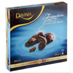 DAVINIA fruits de mer chocolat noir 250g - Chocolate Gifts - Davinia