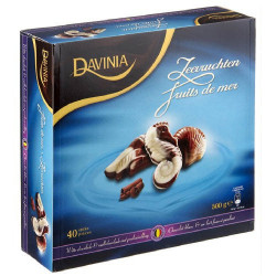 Buy-Achat-Purchase - DAVINIA fruits de mer en chocolat 500 g - Chocolate Gifts - Davinia