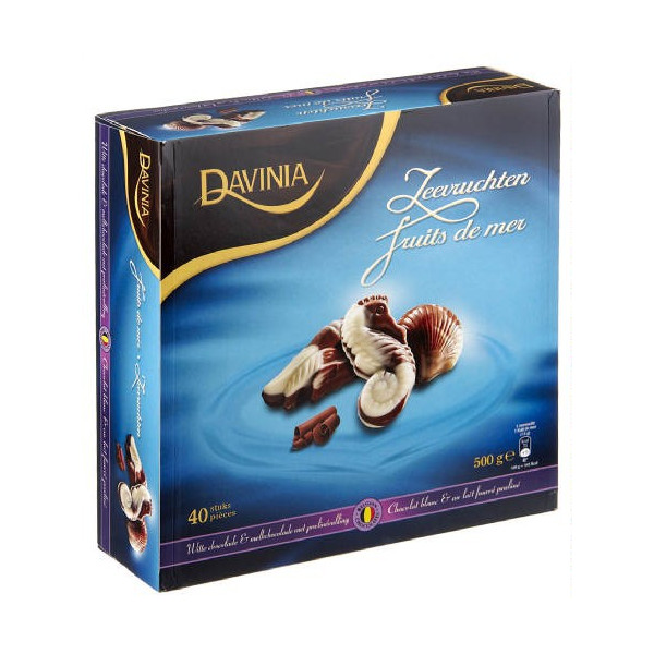 DAVINIA fruits de mer en chocolat 500 g - Chocolate Gifts - Davinia