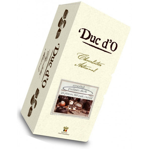 Buy-Achat-Purchase - Duc D'o Pralines Dzark 20pcs - 250g - Chocolate Gifts - Duc D'O