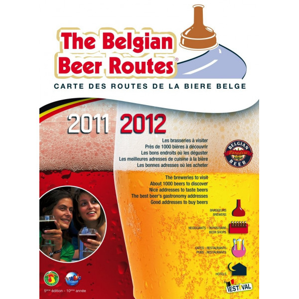 The Belgian Beer Routes 2011-2012 - Books -