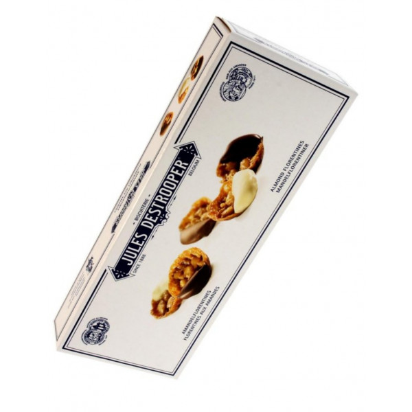 Buy-Achat-Purchase - Jules Destrooper Florentines aux Amandes 100g - Biscuits - Jules Destrooper