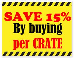 Discount Crates 15%